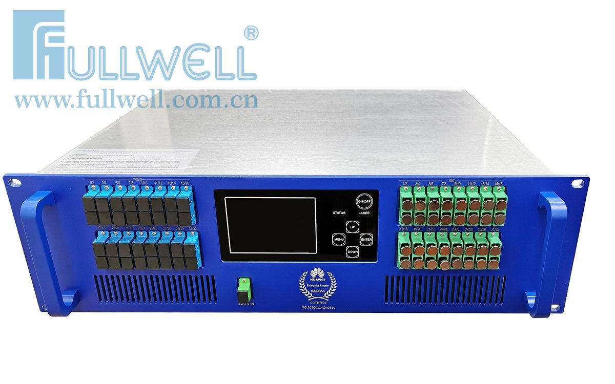 32 ports PON+CATV WDM EDFA