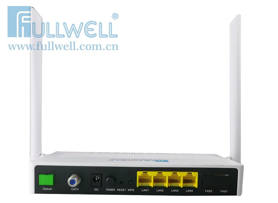 ONT,4GE+CATV+2.4/5G ac WIFI